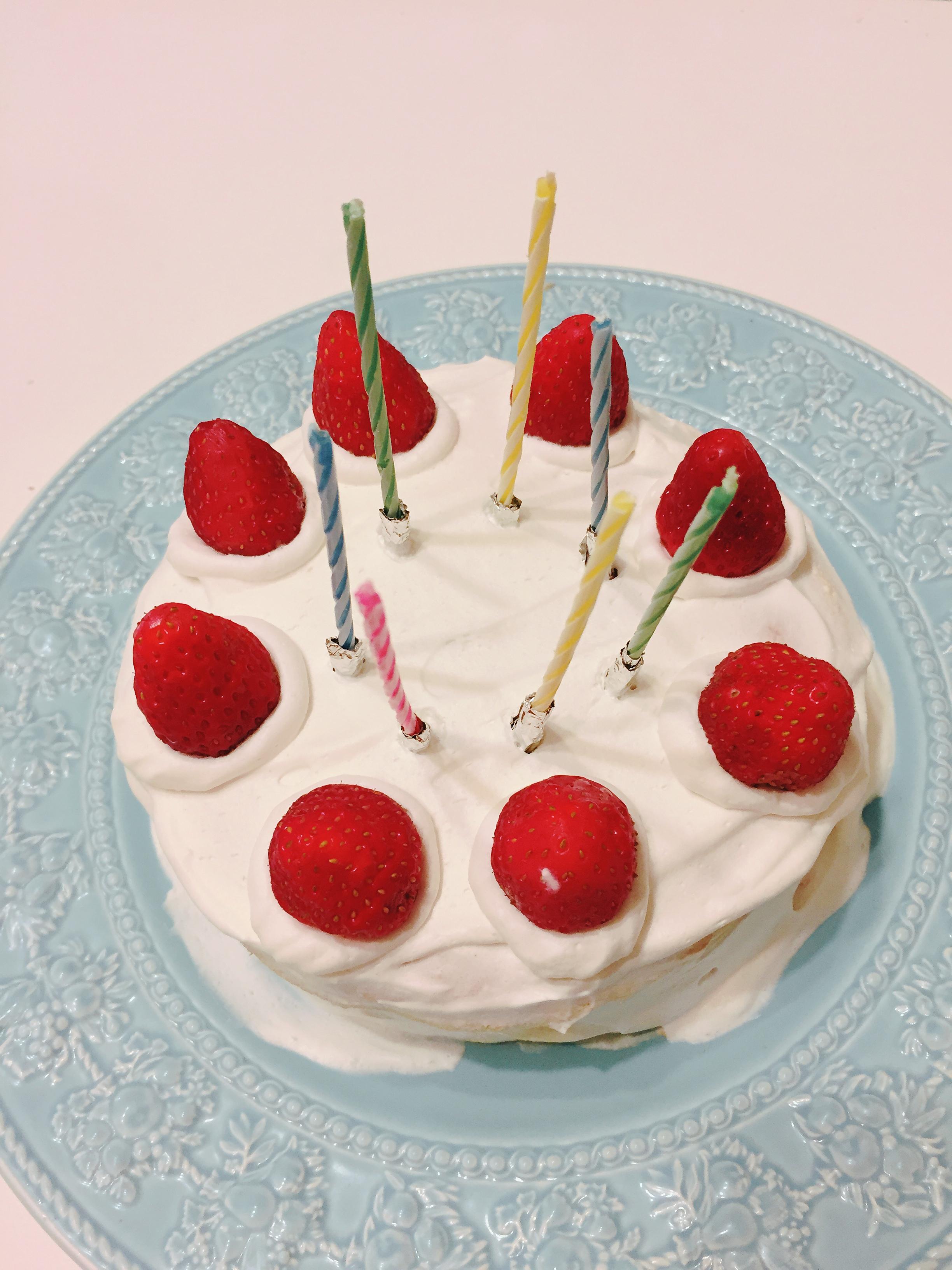 誕生日もクリスマスも…年6回のケーキ!それならおうちで手作りケーキにしよう