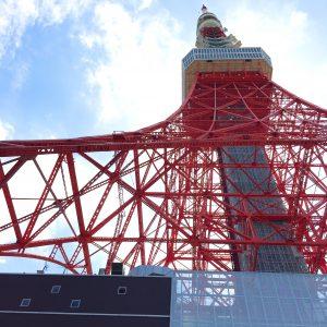 東京タワー下から