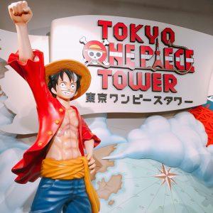 東京ワンピースタワーに行ってきました!混雑していたけど良かったよ