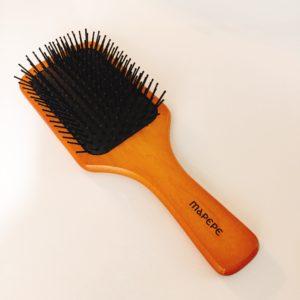 新しいヘアブラシを購入!マペペのパドルブラシの使い心地は?
