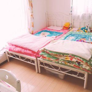4人の子で6畳2部屋!やはり2人ずつで下2人は男女同室かな…
