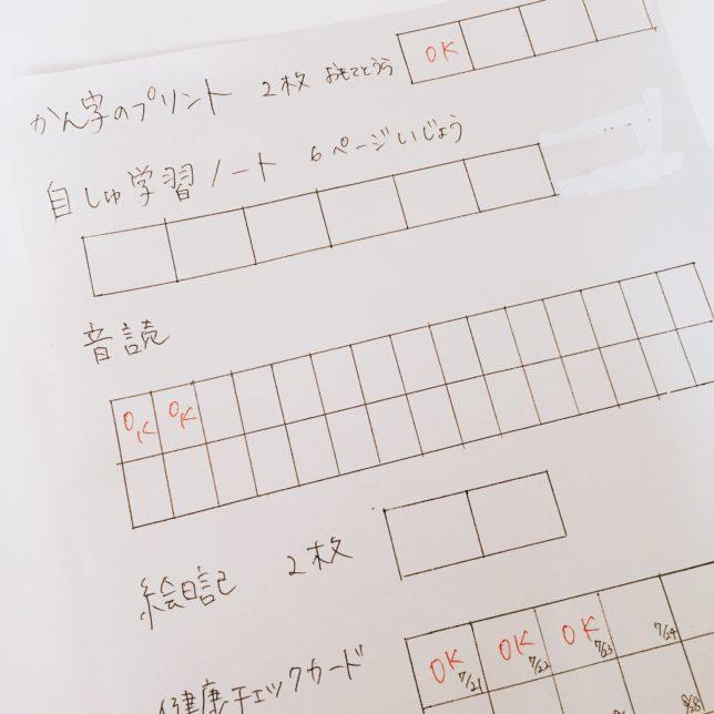小学生の夏休み…計画表を書いて計画的に過ごしたい