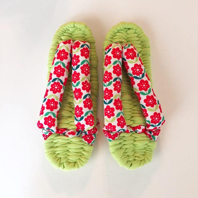 布ぞうり作り きれいに作るために気をつけたこと~クチュリエのキットを使って~