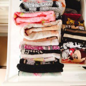 下着やタオル等の収納見直し やっぱりケースで仕切ると使いやすい