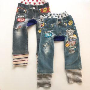成長してズボンの丈が短くなった!丈を足してもう少し長く履こう