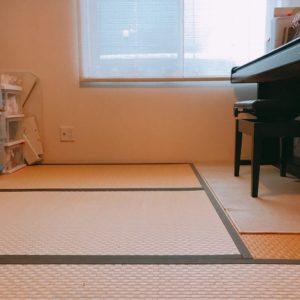 リビング続きの和室の模様替え おもちゃが見えなくなりすっきり