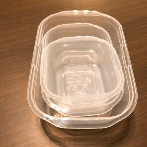 食品の保存容器を買い替える 使いやすさや収納を考慮し決定