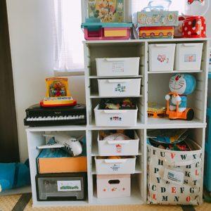 おもちゃ置き場がいつの間にかぐちゃぐちゃに…収納も進化させる
